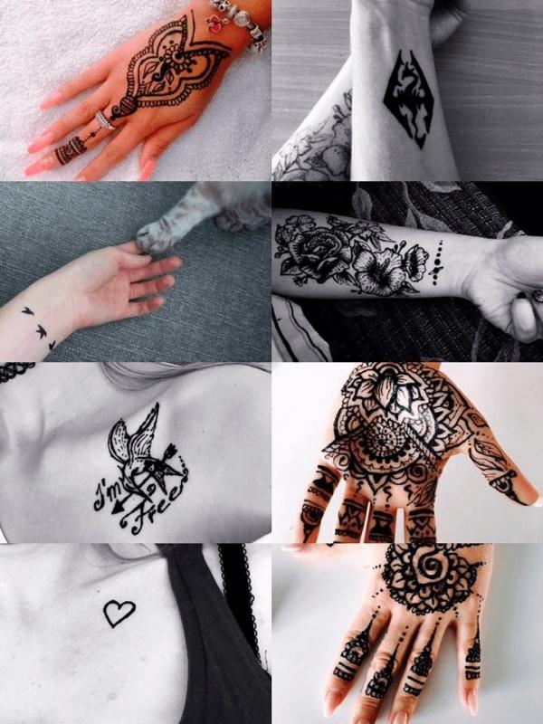 dočasné tetovanie