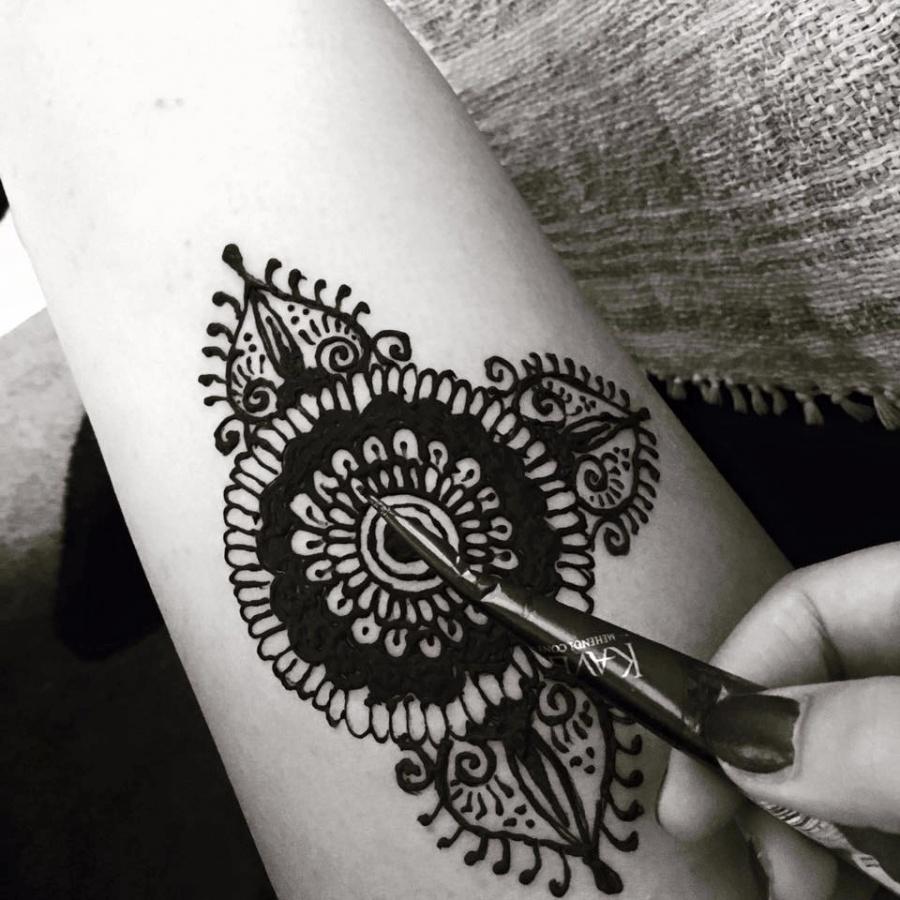 henna tetovanie