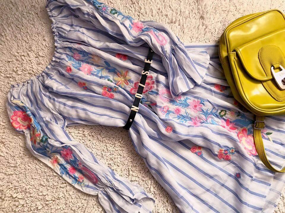outfit do školy letné šaty
