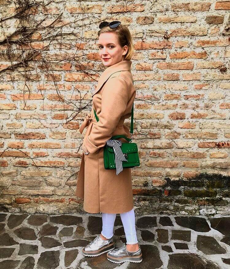 outfit do školy kabát