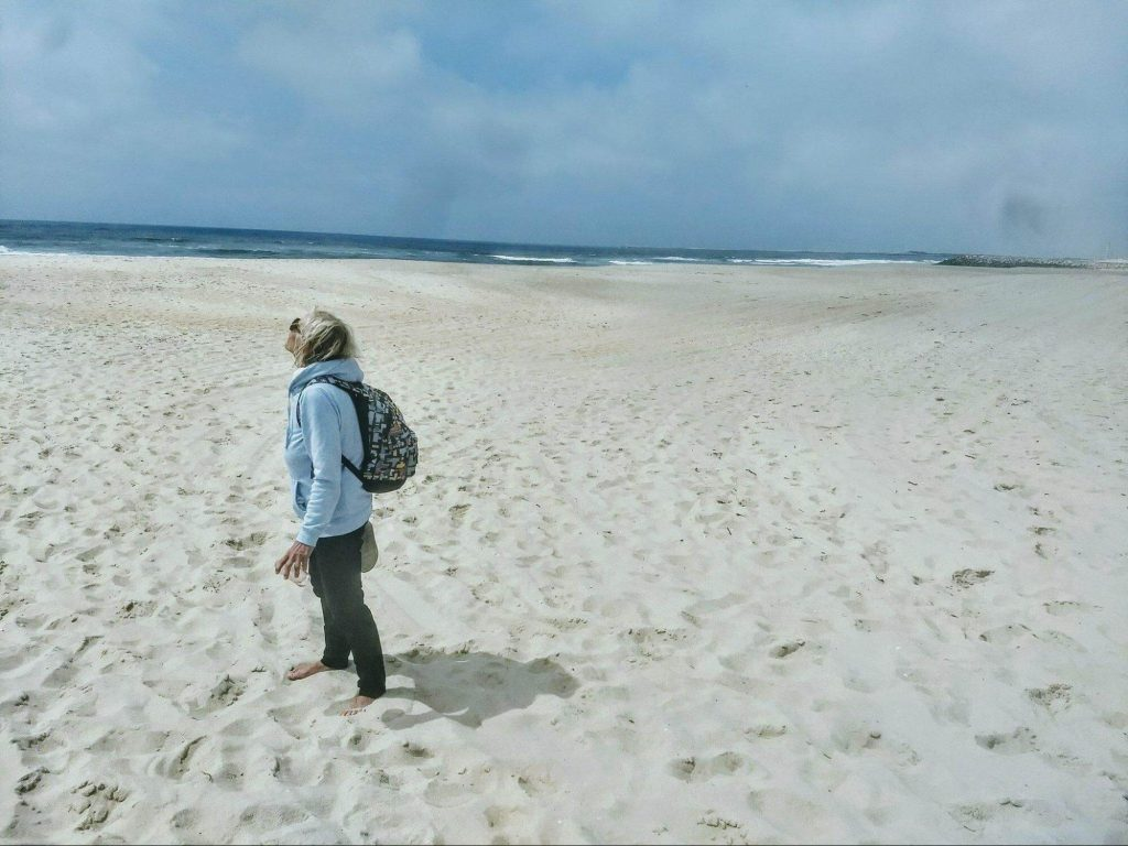 pláž v aveire