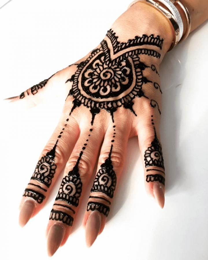 tetovanie ruky hennou