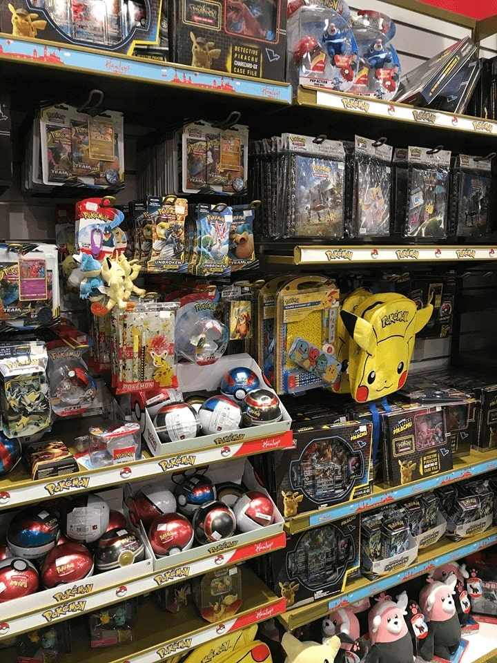 hračkárstvo praha pokémon