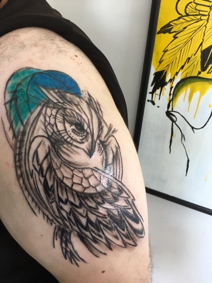 tetovanie na rameno