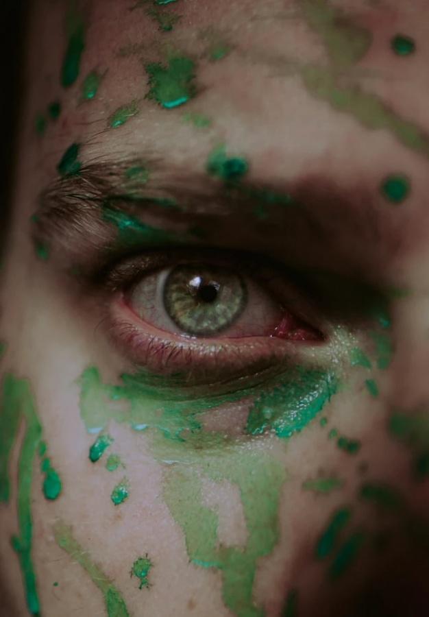 zelené tetovanie