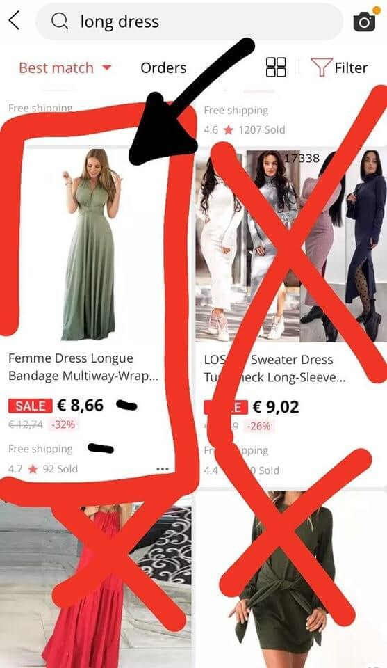 aliexpress šaty