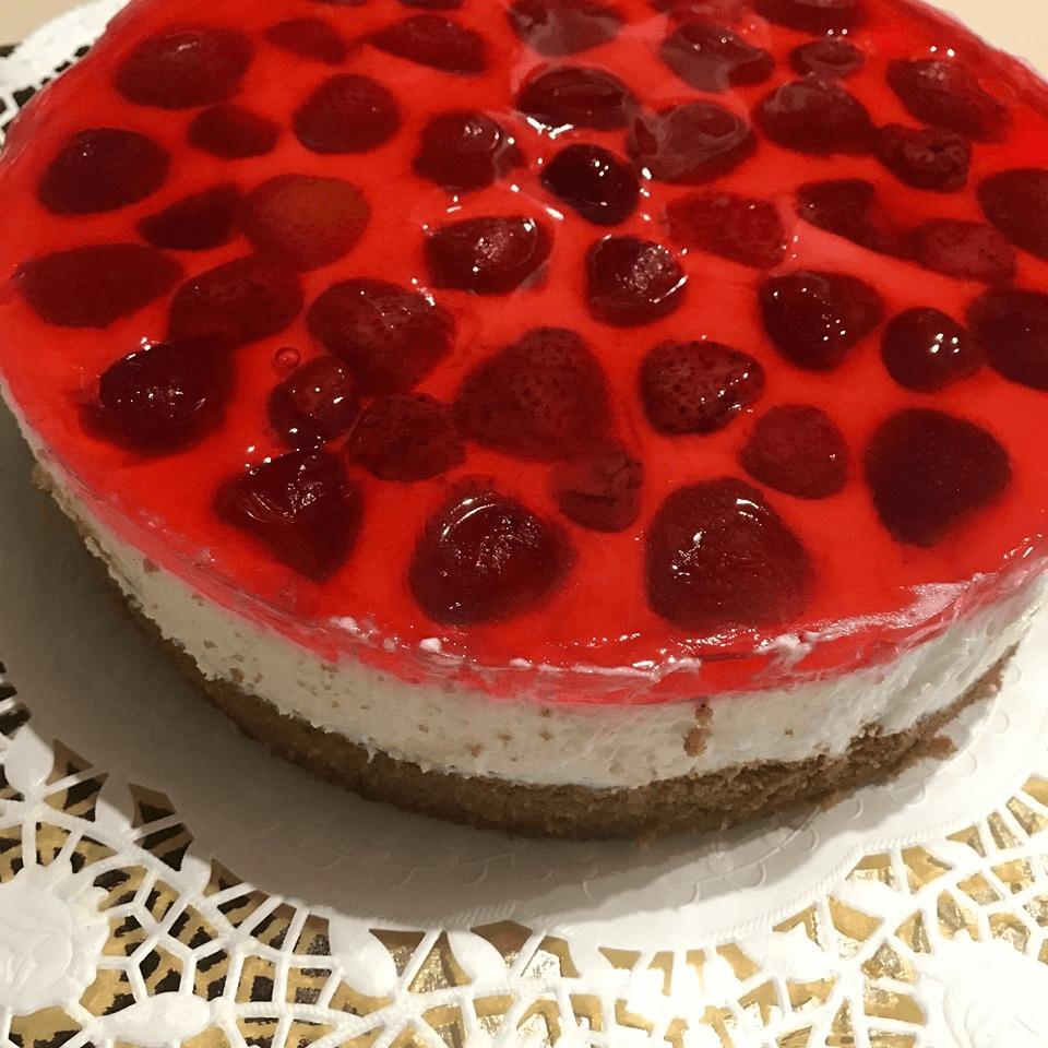narodeninová tvarohová torta