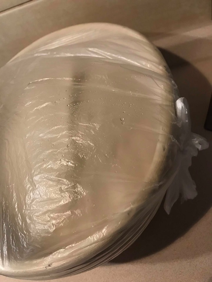 postup kváskový chleba