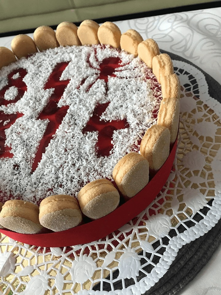 tvarohová torta