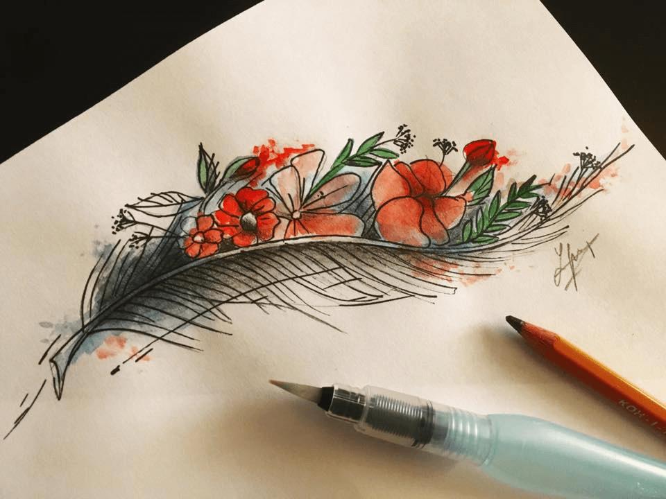 návrhy na ženské tetovania