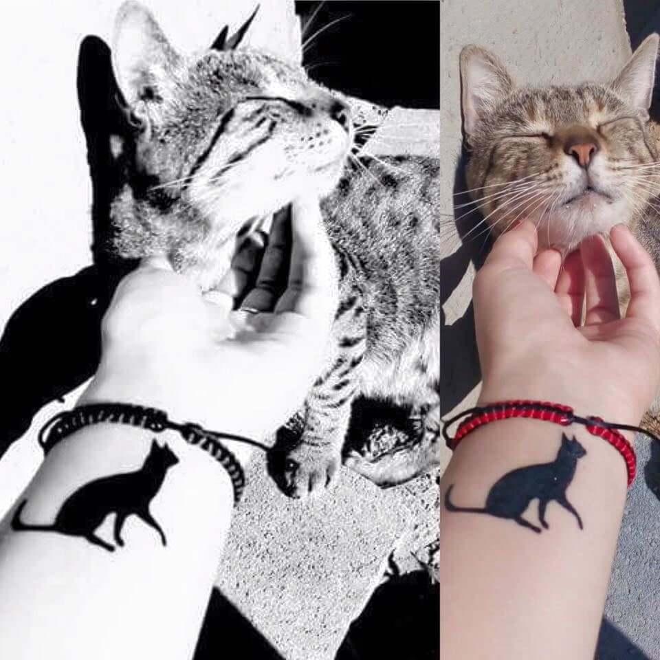 návrh tetovania zviera