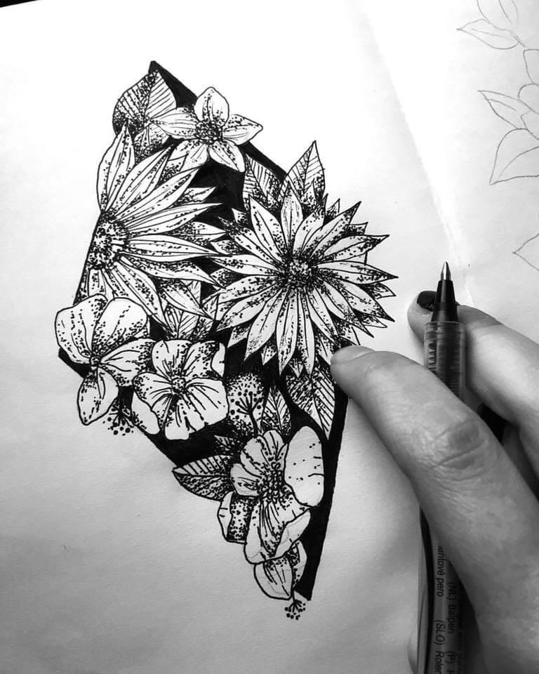 zložité tetovanie