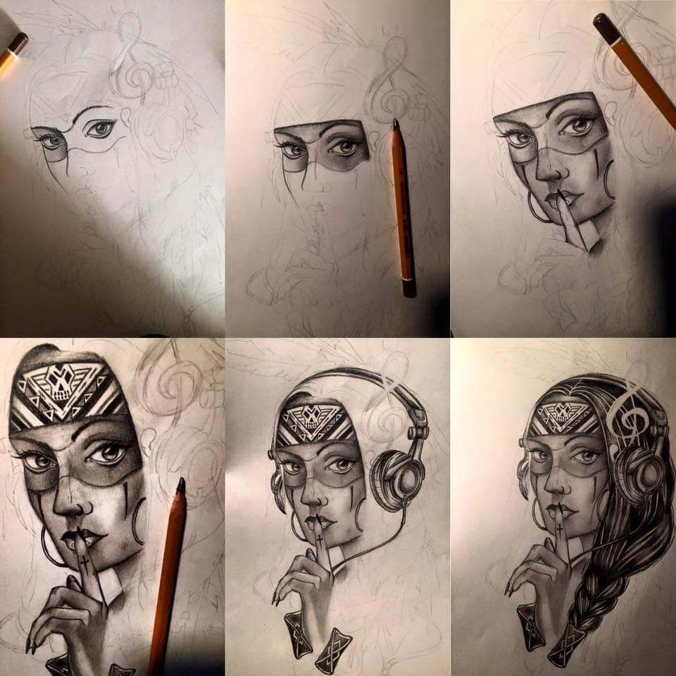 ako sa naučiť kresliť