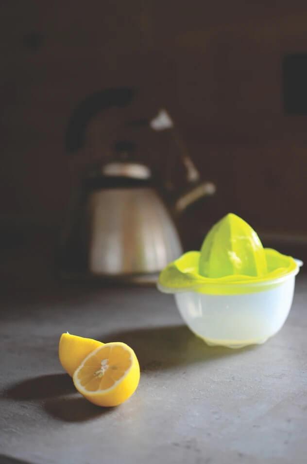 citrón kruhy pod očami