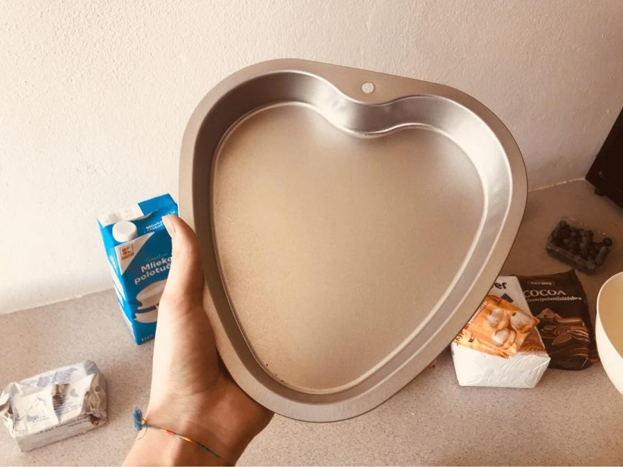 forma na pecenie srdieckovej torty