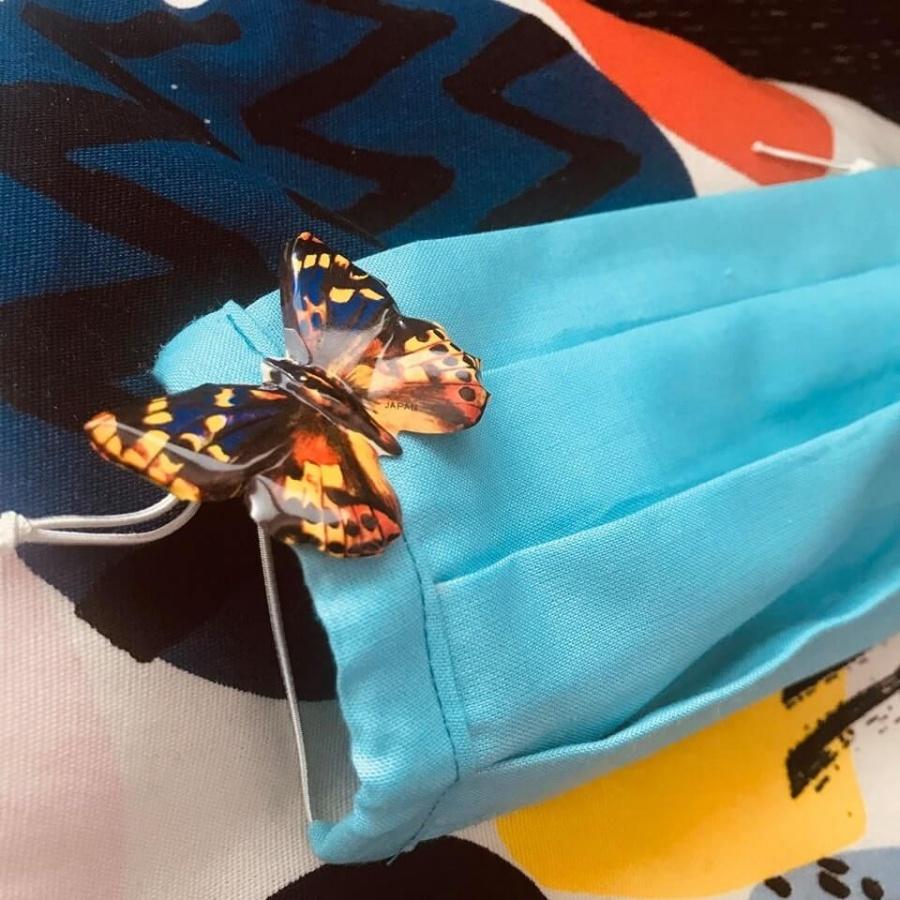 ozdoba na rúšku motýľ