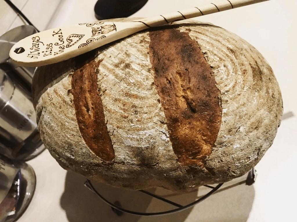 kváskový chlieb karanténa