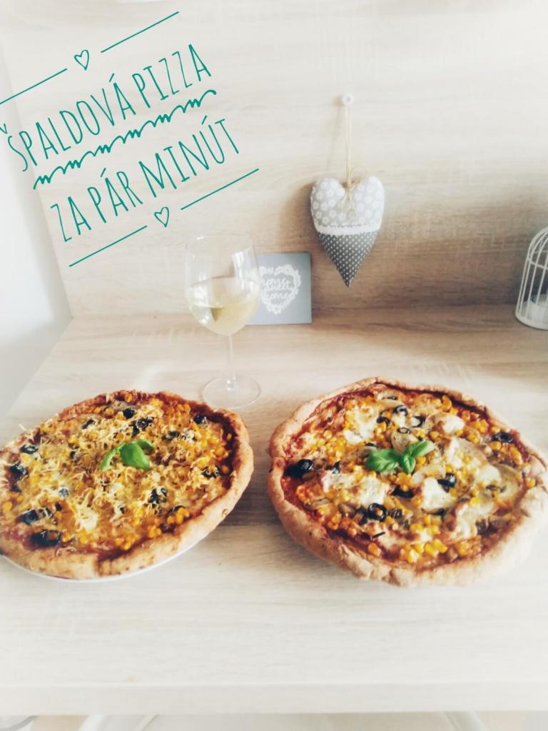 zdravá špaldová pizza