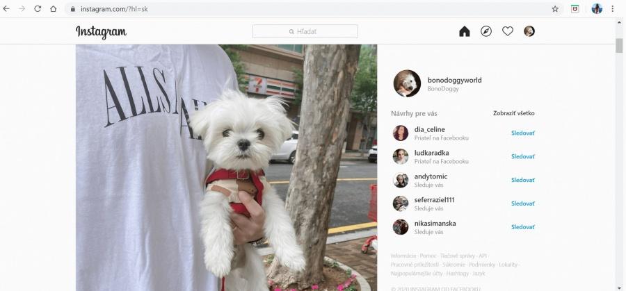 ako si vymazať účet na instagrame