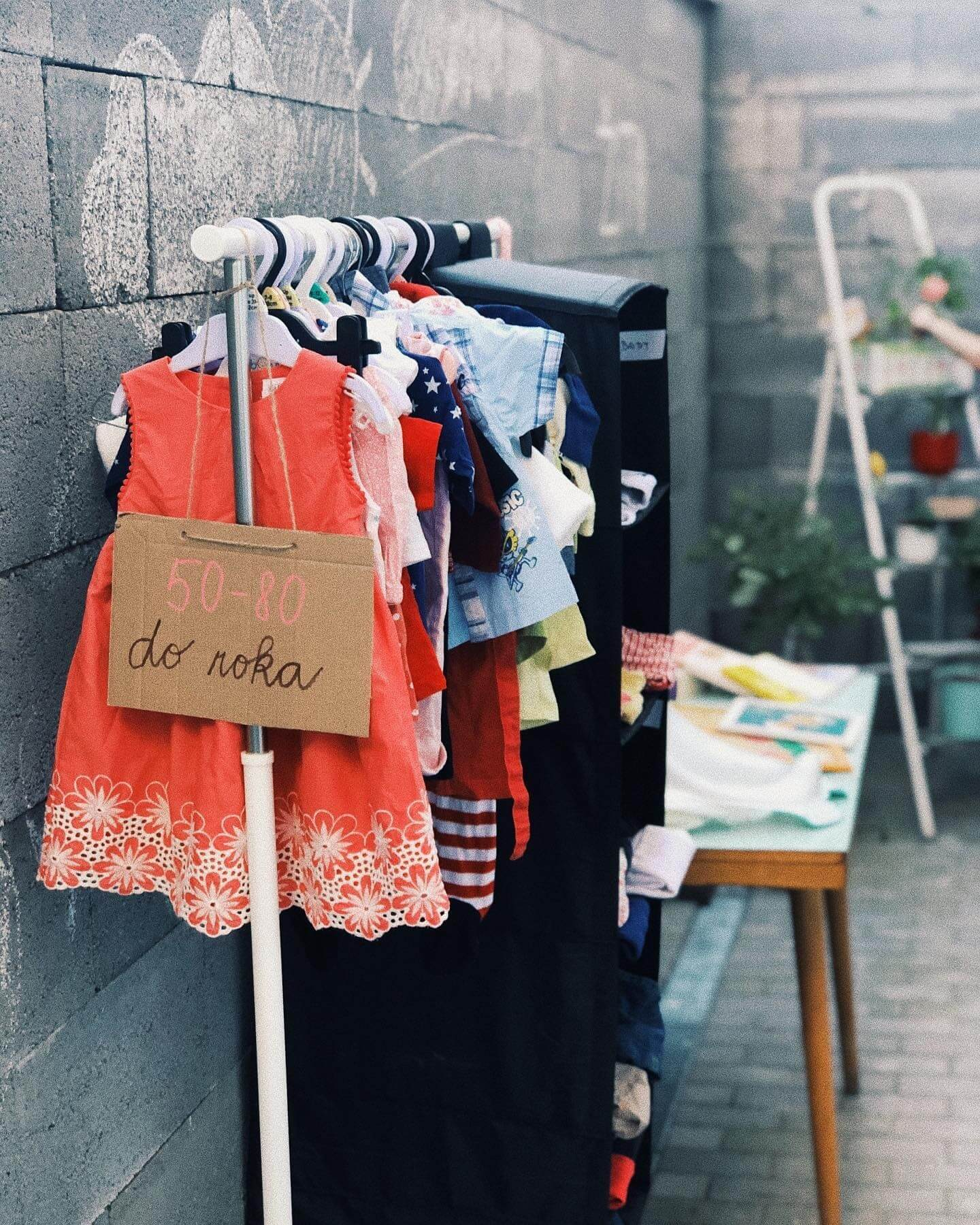 Swap detského oblečenia